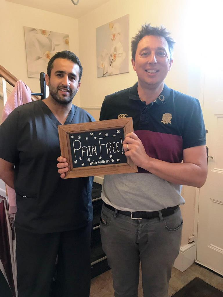 Pain Free Dentistry at Smile With Us