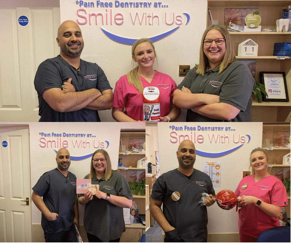 smile with us giving back